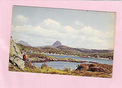LOCHINVER look to    PEAKS OF CANISP     SUTHERLAND  Highland  SCOTLAND  (H54)
