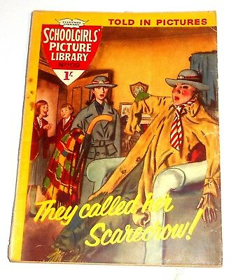 #109 Schoolgirl's Picture Library Comics ~ THEY CALLED HER SCARECROW! ~ 1961