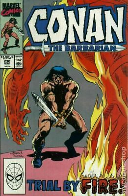 Conan the Barbarian (Marvel) #230 1990 FN Stock Image