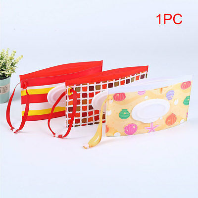 Stroller Clutch EVA Bag Wet Wipes Potable Carrying Case Clean Pouch