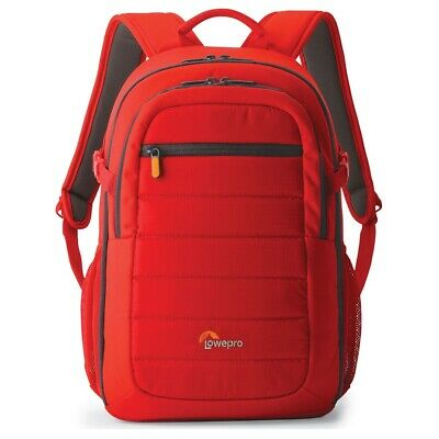 Lowepro Tahoe BP 150 Camera Backpack in Mineral Red