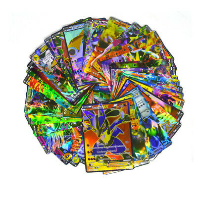 100 PCS Pokemon Flash Lot Rare High Combat HP Energy EX+GX+Mega Cards US