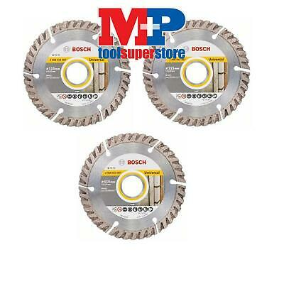 Bosch 2608615057 Angle Grinder Diamond Cutting Disc 115Mm *pack Of 3*