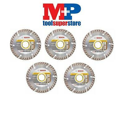 Bosch 2608615057 Angle Grinder Diamond Cutting Disc 115Mm *pack Of 5*