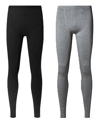 EX Stock M&S Marks and Spencer Heatgen Thermal Warm Mens Long Johns Pants 2 Pack