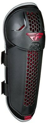 Fly Racing Barricade Mens MX Offroad Knee Guards Black/Red