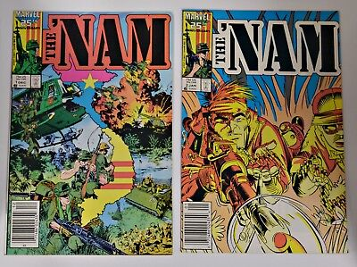 THE NAM Marvel Comics - Issues 1 thru 25 and 27 - 26 total issues
