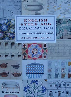 LIVRE : STYLE & DÉCORATION ANGLAIS (sourcebook of original english designs)