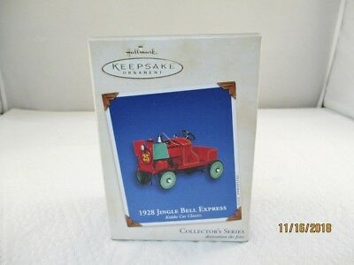 2002 Hallmark 1928 JINGLE BELL EXPRESS Kiddie Car Classics #9 Ornament #2