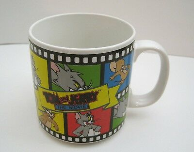 Vintage Tom & Jerry The Movie Cartoon Coffee Mug Applause Turner Entertainment