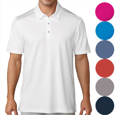 Adidas 3 Stripes Polo Golf Shirt Men's 2018 New TM1374S8 - Choose Color!