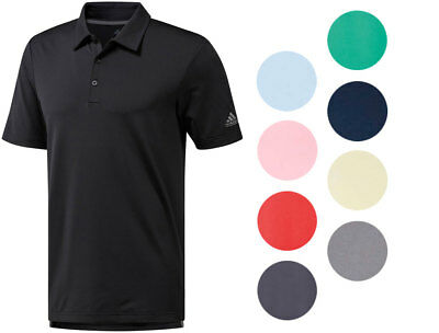 Adidas Ultimate 365 Solid Polo Golf Shirt TM1364S8 Men's 2018 New - Choose Color