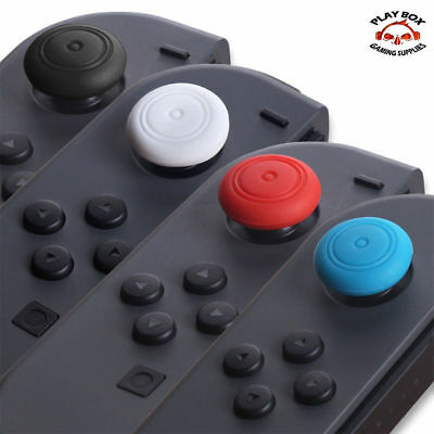 2X Funda Ps4 Mando Nintendo Switch Joy Con Gomas Joystick Thumb Grips Silicona
