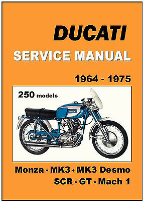 classic ducati 160 196 monza service workshop repair manual