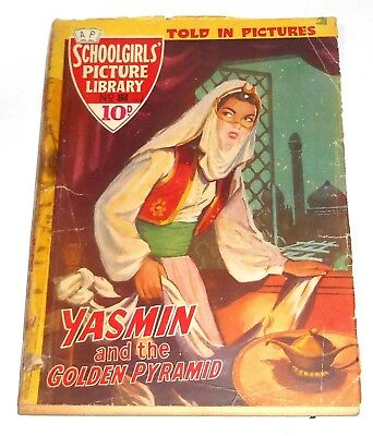 #51 Schoolgirl's Picture Library Comics ~ YASMIN AND THE GOLDEN PYRAMID ~ 1958