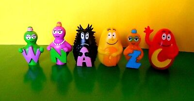 Lotto 6 Figuren 3D Barbapapa Edibas