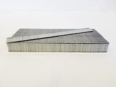 "18 Gauge Galvanized Straight Finish Brad Nail 1/2"" 5,000/box fits most brands"