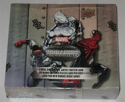 Factory Sealed Hobby Box 2015 Upper Deck Marvel Vibranium Trading Cards