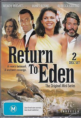RETURN TO EDEN -  Rebecca Gilling, James Reyne, Wendy Hughes - 2 DISC SET