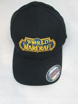 WORLD OF WARCRAFT Flexfit Baseball Cap Hat Large Extra-Large L XL ... d8f04ce2eaa6