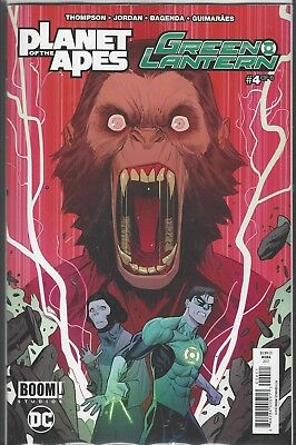 Planet of the Apes Green Lantern (DC/Boom) (2017) # 4 a