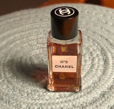 Vintage Chanel No 5 Perfume Tester-approximately 1/4 oz size bottle-very old