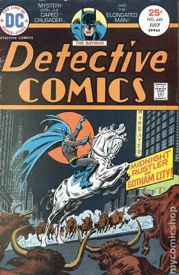Detective Comics (1st Series) #449 1975 VG 4.0 Stock Image Low Grade
