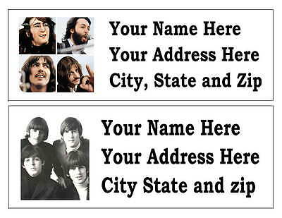120 The Beatles Return Address Labels Many Choices