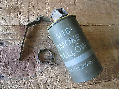 Used Smoke G, Complete, Yellow M18, Light Scuffs, Spent