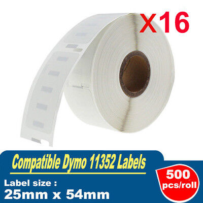 16 Compatible for Dymo / Seiko 11352 Label Labelwriter 450 Turbo/4XL 25mm x54mm