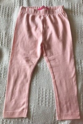 Brand New Primark Baby Girls Pale Pink Leggings. Age 12-18 Months