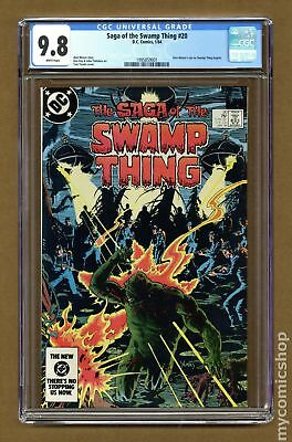 Swamp Thing (2nd Series) #20 1984 CGC 9.8 1995859001