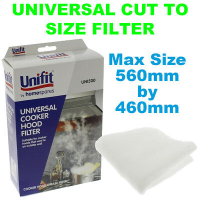 RAM Program 2000 Universal Thick Type Grease Filter 560mm x 460mm Cut To Size