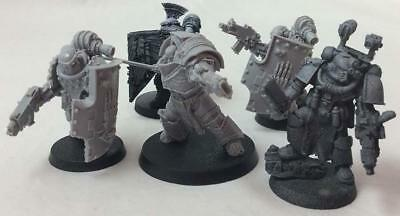 Forge Worl Warhammer 40k Space Marines Loose M Mk. III Iron Hand Collection NM