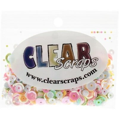 Clear Scraps Sequin Multi Pack 350 To 400 Pieces-spring