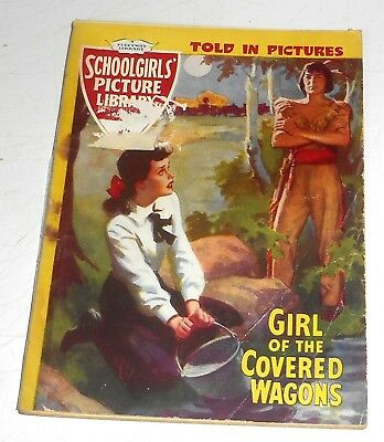#68 Schoolgirl's Picture Library Comics ~ GIRL OF THE COVERED WAGONS ~ 1959