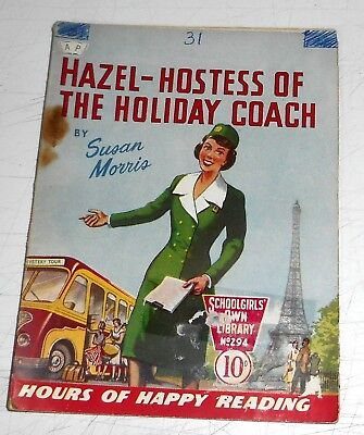 #294 Schoolgirl's Own Library Comics ~ HAZEL - HOSTESS OF THE HOLIDAY CAMP  1958
