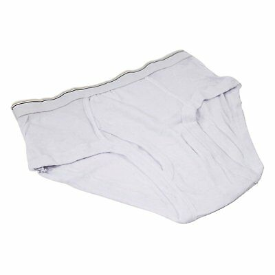 Cotton Men's Underwear XL Jock Briefs in 3-Pack