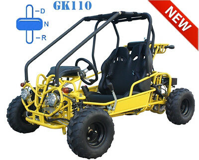 NEW Youth Go Kart Children ATV Automatic w/ Reverse, Governor, FREE SHIP +HELMET