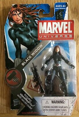 "New & Sealed - Marvel Universe - Black Widow 4"" Figure (2009) UK Seller"