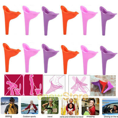 Lots Women Female Reusable Portable Urinal Outdoor Travel Stand Up Pee Urination