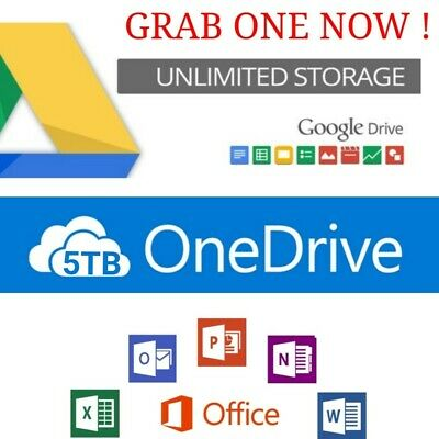 3+1 Unlimited google drive on existing acc 3.1