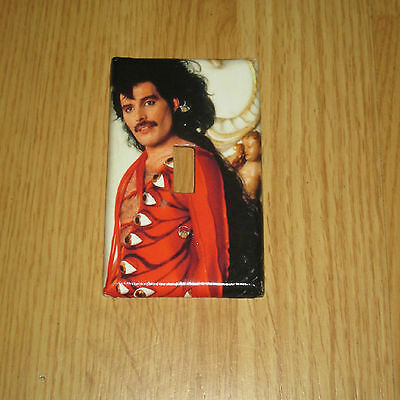 FREDDIE MERCURY of QUEEN GLAM ROCK LEGEND Light Switch Cover Plate #1