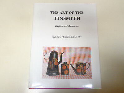 The Art of Tinsmith – English and American HBDJ Antique Metalworking Folk Art