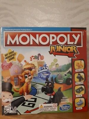 Monopoly Junior Board Game New and Sealed