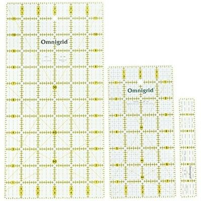 Omnigrid Rotary Set Basics - Ruler Set Pkg