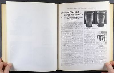 Book of 1941-42 Essays about Antique AMERICAN SILVER @ Helen Burr Smith