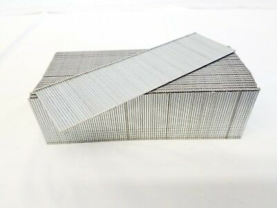 "18 Gauge Galvanized Straight Finish Brad Nail 1 1/2"" 5,000/box fits most brands"
