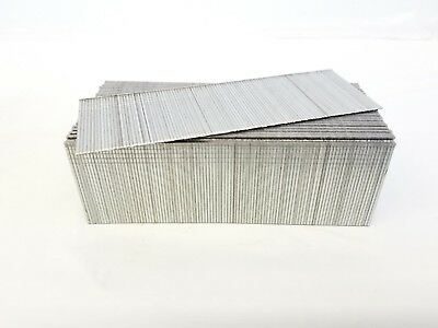 "18 Gauge Galvanized Straight Finish Brad Nail 1 3/4"" 5,000/box fits most brands"