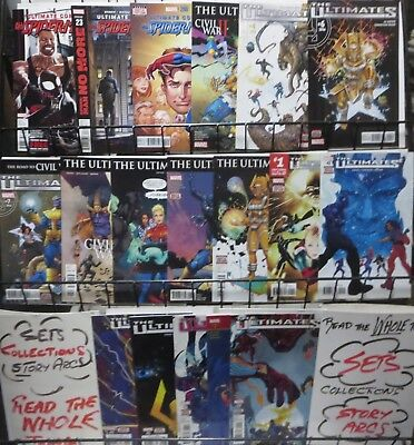 ULTIMATES COLLECTION! (Marvel,2016) 18 books! Ultimates 2,Miles Morales
